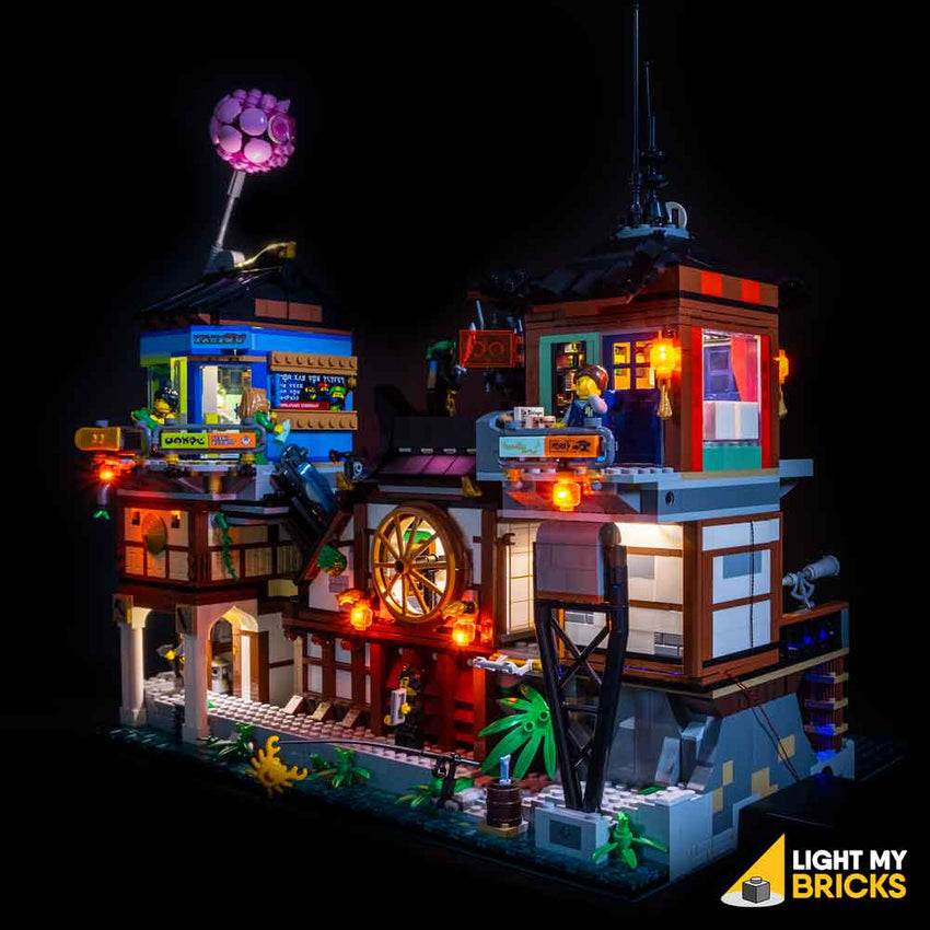 LEGO Ninjago City Docks #70657 Light Kit