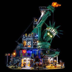 LEGO Welcome To Apocalypseburg! #70840 Light Kit
