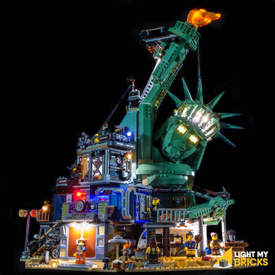 LEGO LED Light Kit for 70840 Welcome to Apocalypseburg Straight
