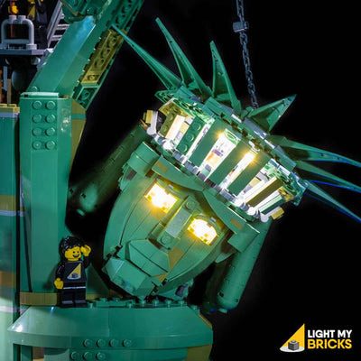 LEGO LED Light Kit for 70840 Welcome to Apocalypseburg Statue of Liberty Face