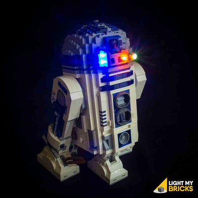 LEGO LED Light Kit for 10225 Star Wars R2-D2 Front