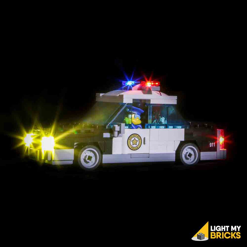 LEGO LED Light Kit for 71016 Kwik-E-Mart Chief Wiggum's Car