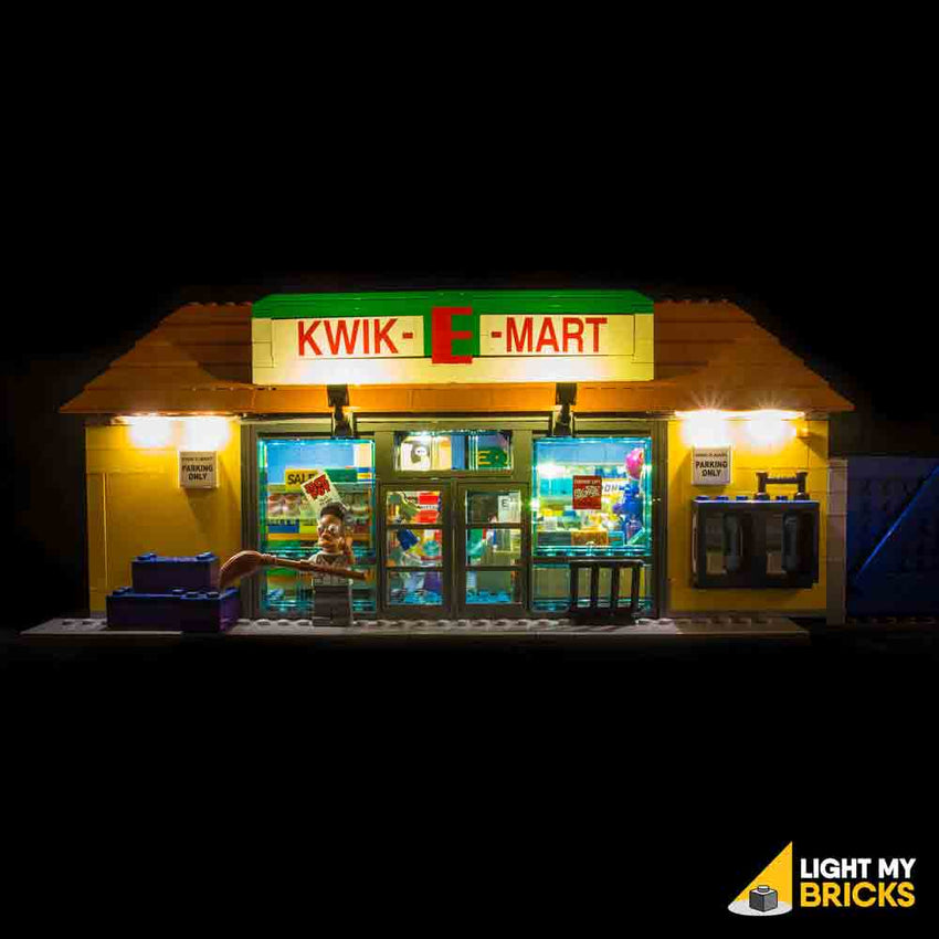 LEGO LED Light Kit for 71016 Kwik-E-Mart Front