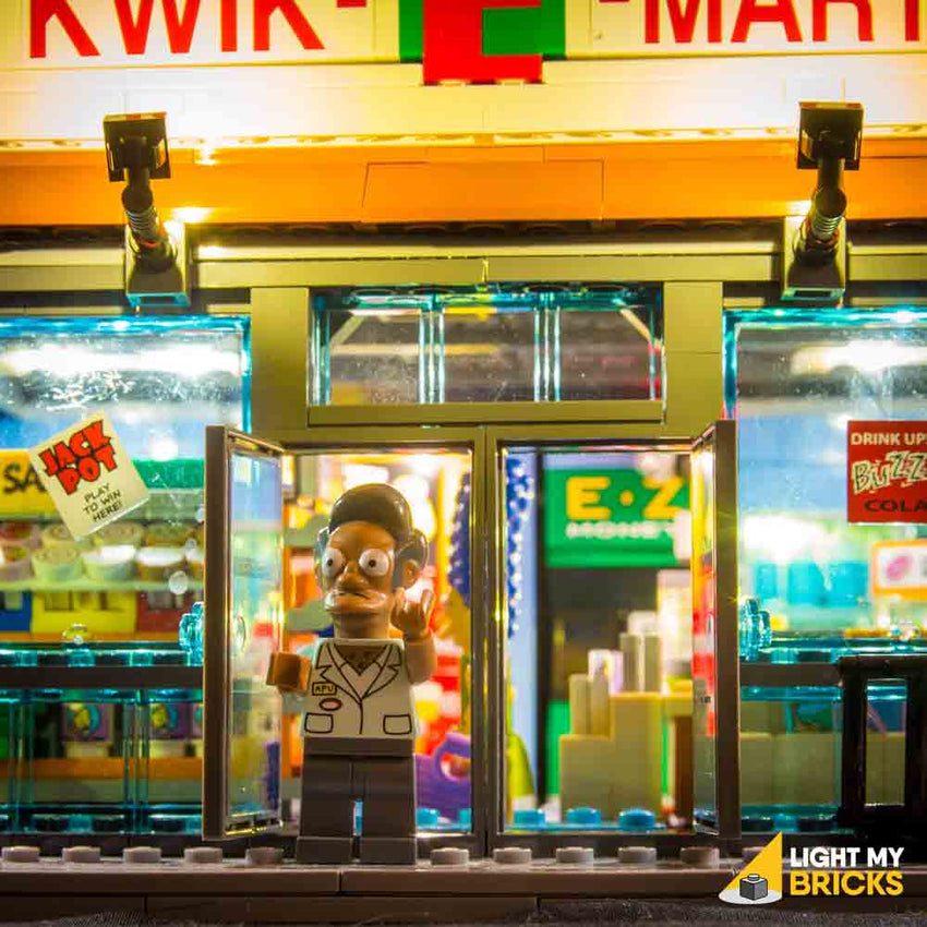 LEGO LED Light Kit for 71016 Kwik-E-Mart Store Front