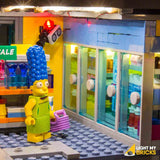 LEGO LED Light Kit for 71016 Kwik-E-Mart Freezer Section