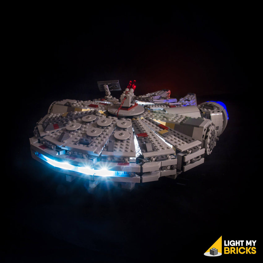 LEGO LED Light Kit for 75105 Star Wars Millennium Falcon Back