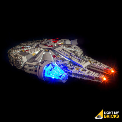 LEGO LED Light Kit for 75105 Star Wars Millennium Falcon Front