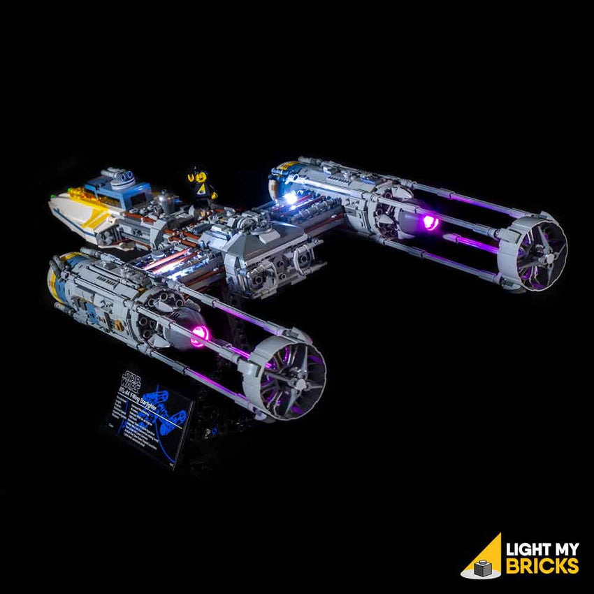LEGO LED Light Kit for 75181 Star Wars UCS Y-Wing Rear