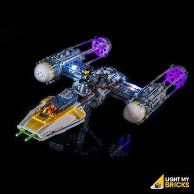 LEGO LED Light Kit for 75181 Star Wars UCS Y-Wing Angle