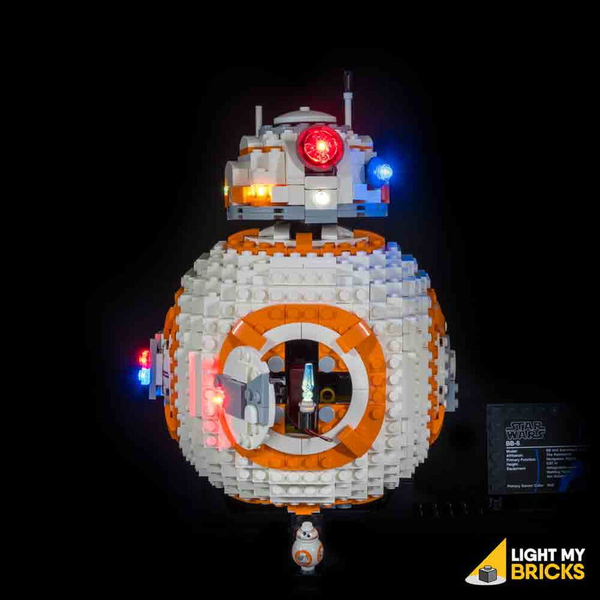LEGO LED Light Kit for 75187 BB-8 Open