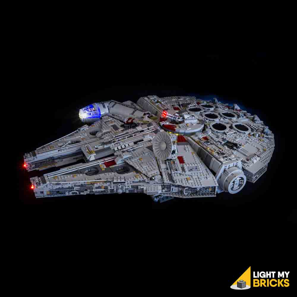 LEGO LED Light Kit for 75192 Star Wars UCS Millennium Falcon Front