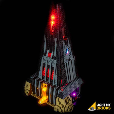 LEGO LED Light Kit for 75251 Darth Vader Castle Top Side