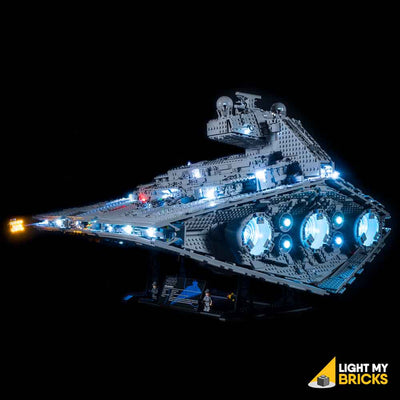 LEGO Star Wars UCS Imperial Star Destroyer #75252 Light Kit