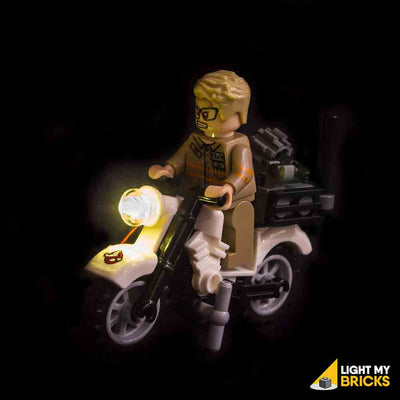 LEGO LED Light Kit for 75828 Ghostbusters Ecto 1 & 2 Bike