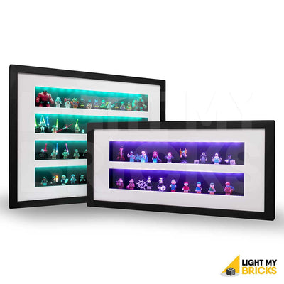 LEGO Minifigure Display Case - Large