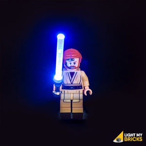 Light My Bricks LEGO Lighting Component - LEGO Lightsaber Blue Activated