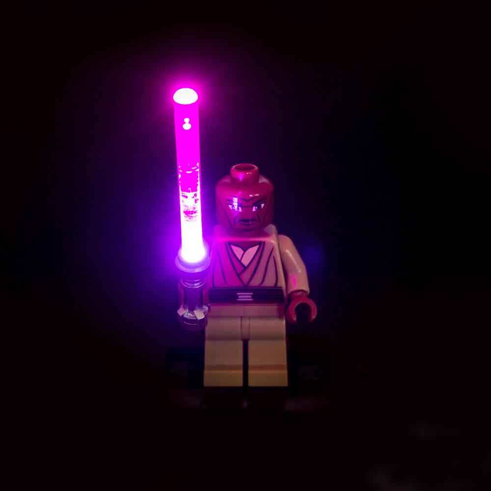 LED LEGO Star Wars Lightsaber Light - Purple/Dark Pink