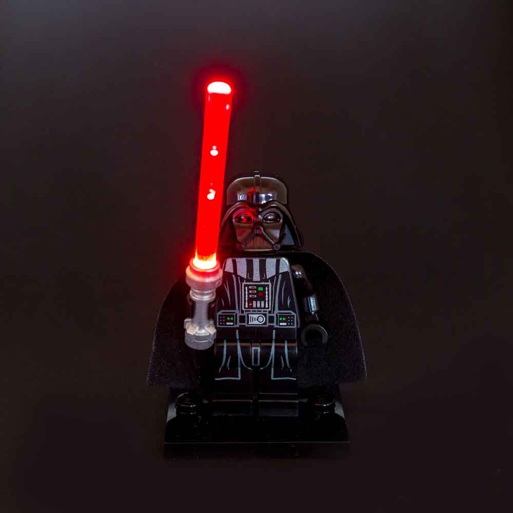 LED LEGO Star Wars Lightsaber Light - Red