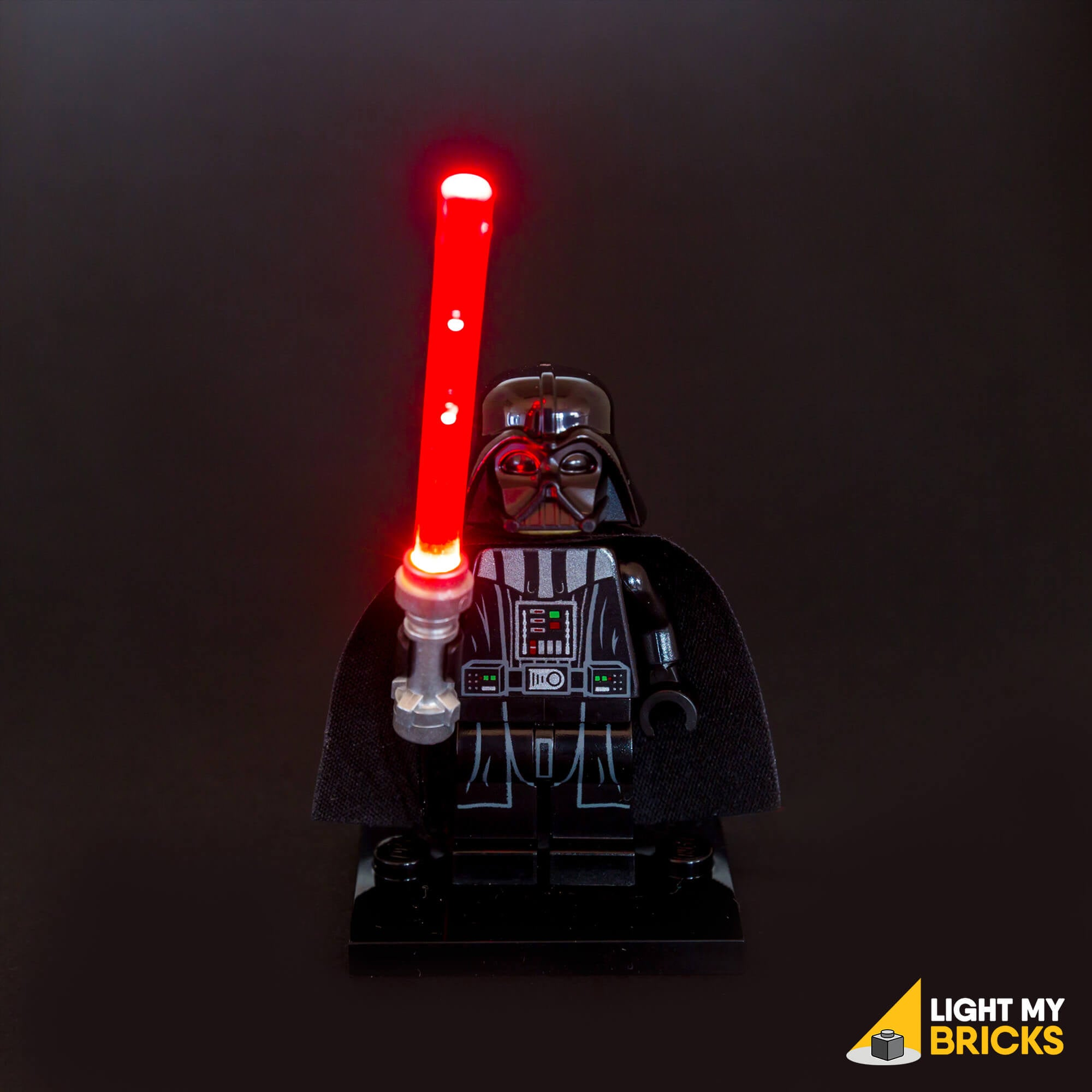 Light My Bricks LEGO Lighting Component - LEGO Lightsaber Red Activated