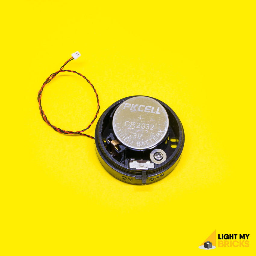 Light My Bricks LEGO Lighting Component - Round Battery Pack Inside 2
