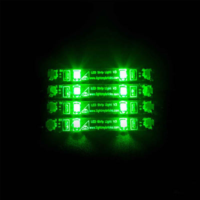 LED Strip Lights - Green (4 pack)