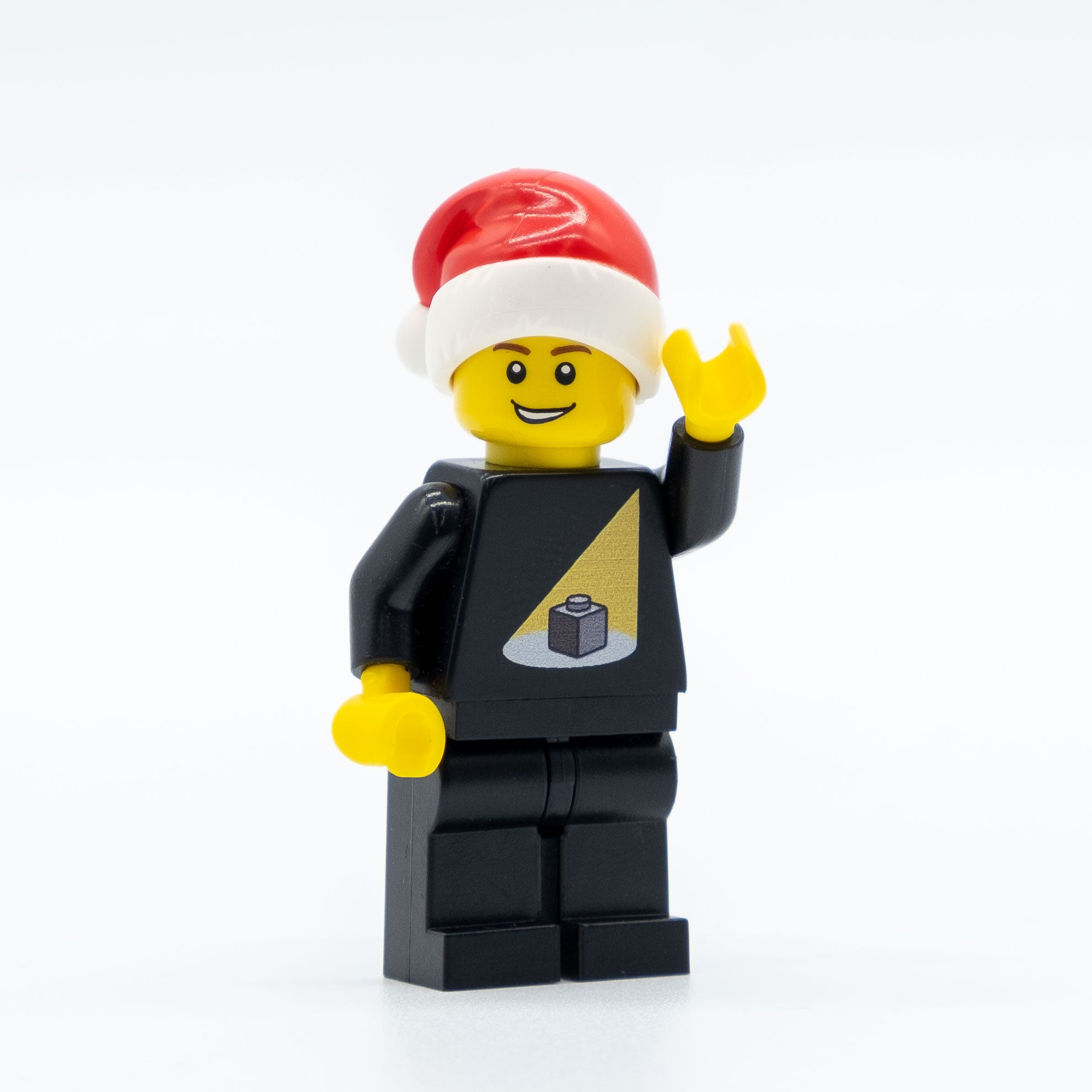 Light My Bricks Christmas Minifigure