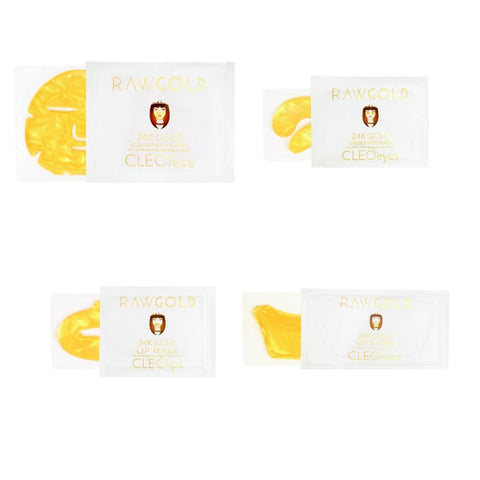 Image of CLEOline 24K Gold HydroGel Masks