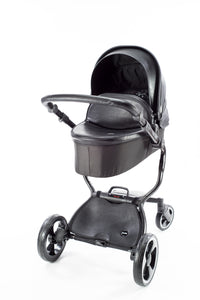 Black 2 in 1 Bassinet Stroller