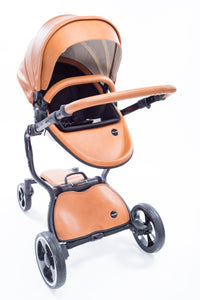 Brown 2 in 1 Bassinet Stroller