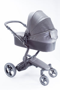 Grey 2 in 1 Bassinet Stroller