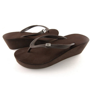 WEDGES / Brown / 5cm