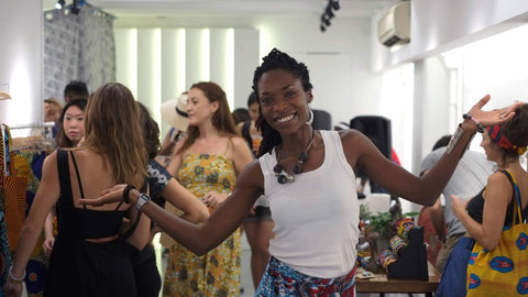 OliveAnkara pop up shop launch party