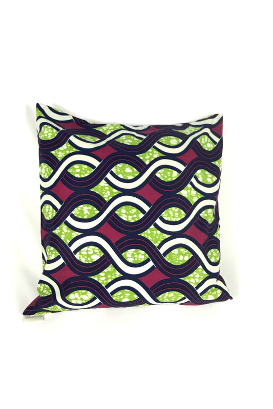 OliveAnkara GREEN/BLUE/RED Cushion - FRONT