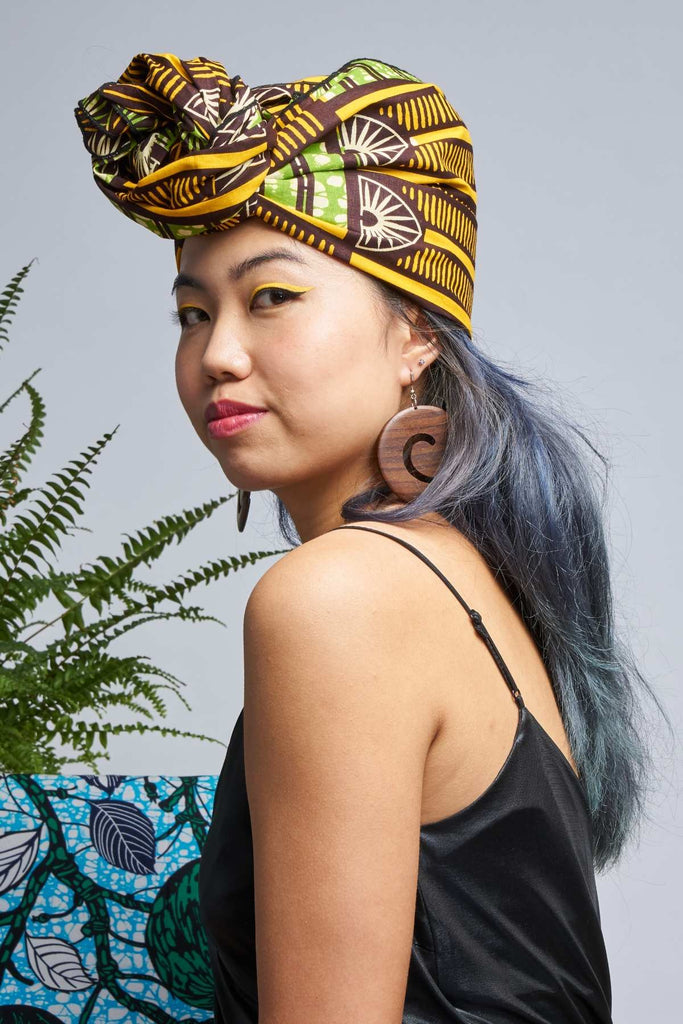 Bako Green Headwrap