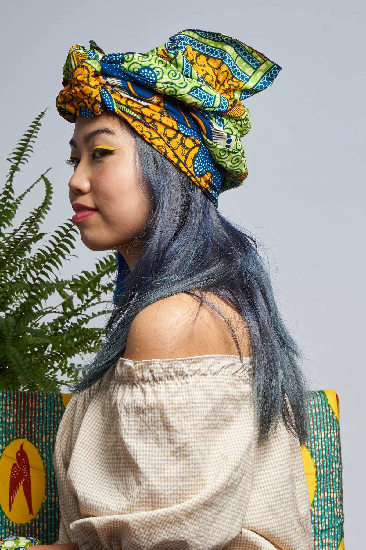 Priscilla Green Headwrap