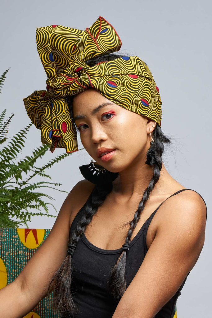 Munah Gold Headwrap