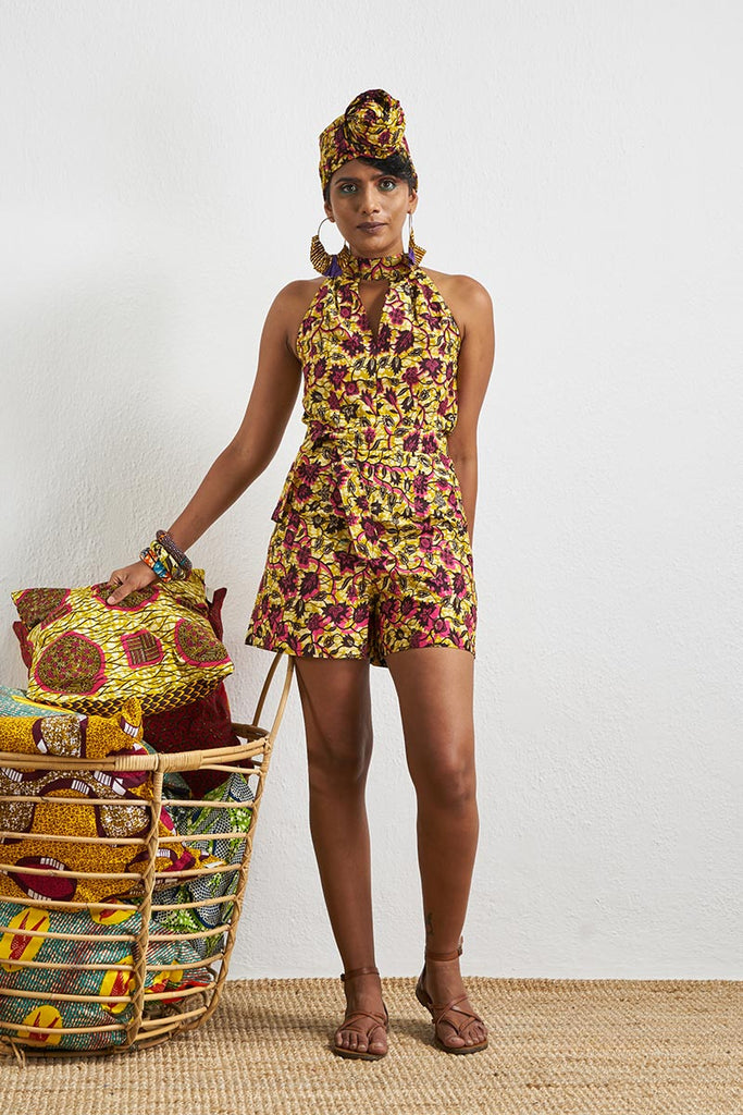 Tuki Yellow Romper