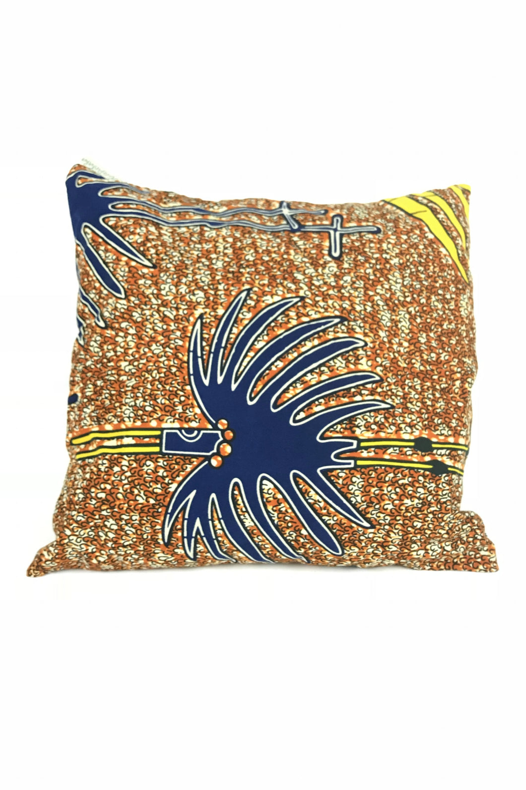 OliveAnkara ORANGE Cushion - Front