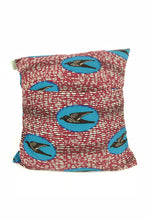 OliveAnkara PINK/BLUE SPEEDBIRDS Cushion - BACK