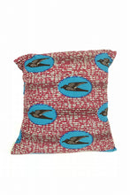 OliveAnkara PINK/BLUE SPEEDBIRDS Cushion - Front