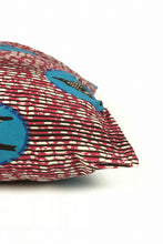 OliveAnkara PINK/BLUE SPEEDBIRDS Cushion - SIDE