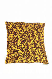 OliveAnkara YELLOW AFE Bi Ye ASIANE Cushion - BACK
