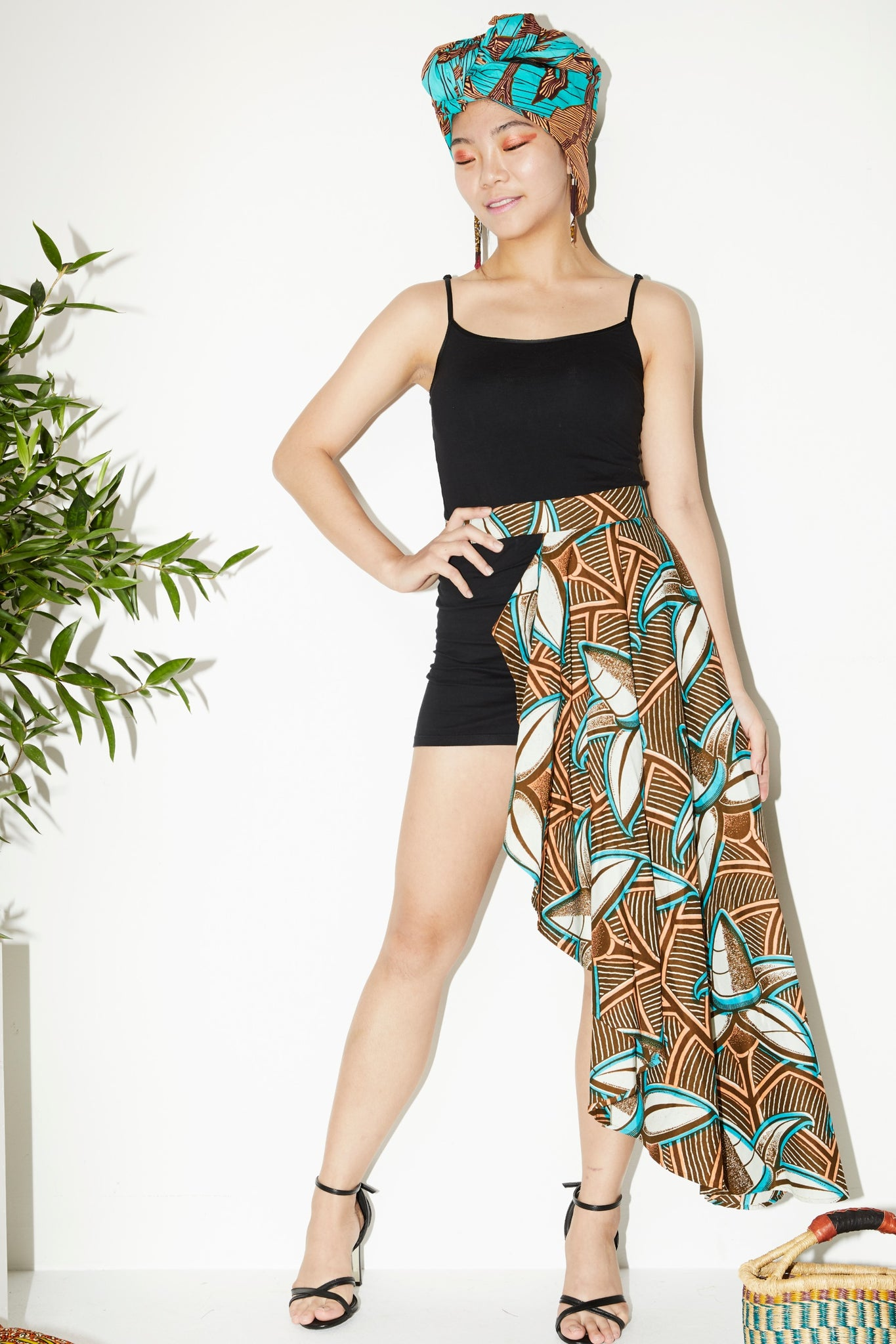 Ayo Coconut Skirt-Belt