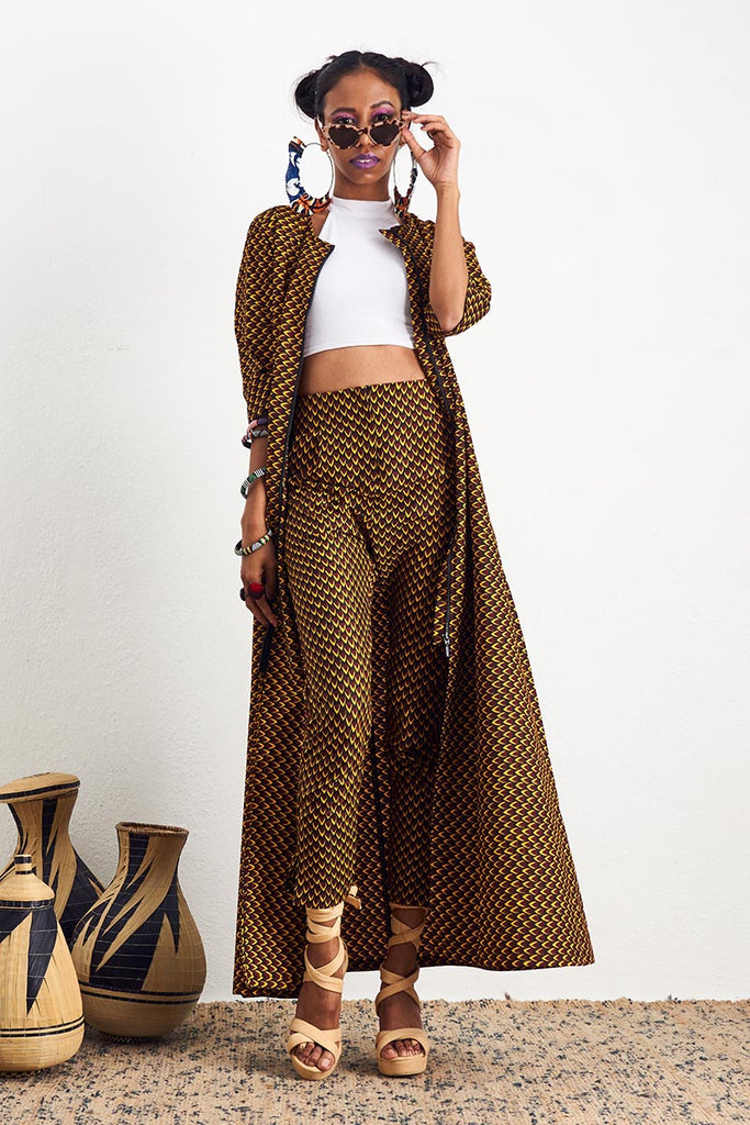 Amara Fish Scale Pants