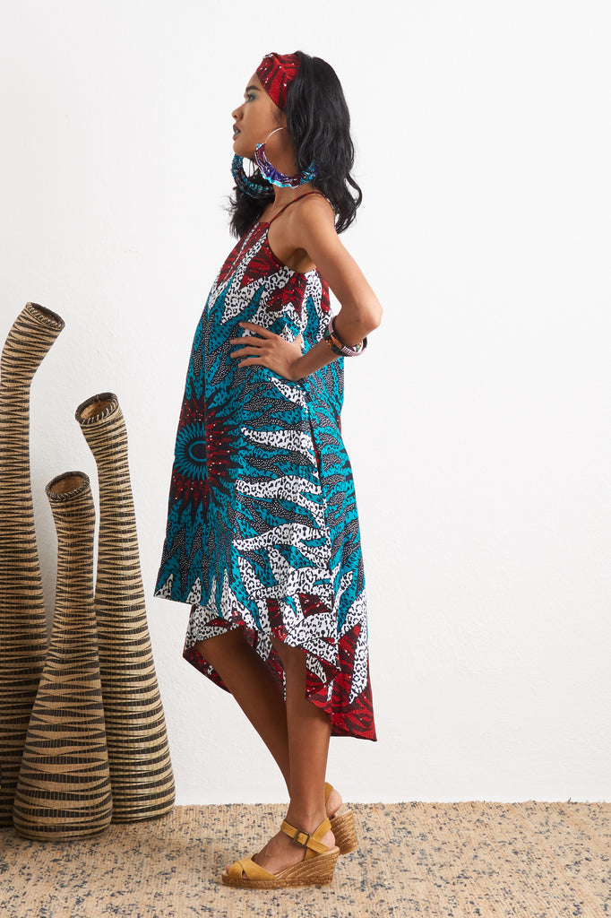 Ayodele Blue Sun Dress