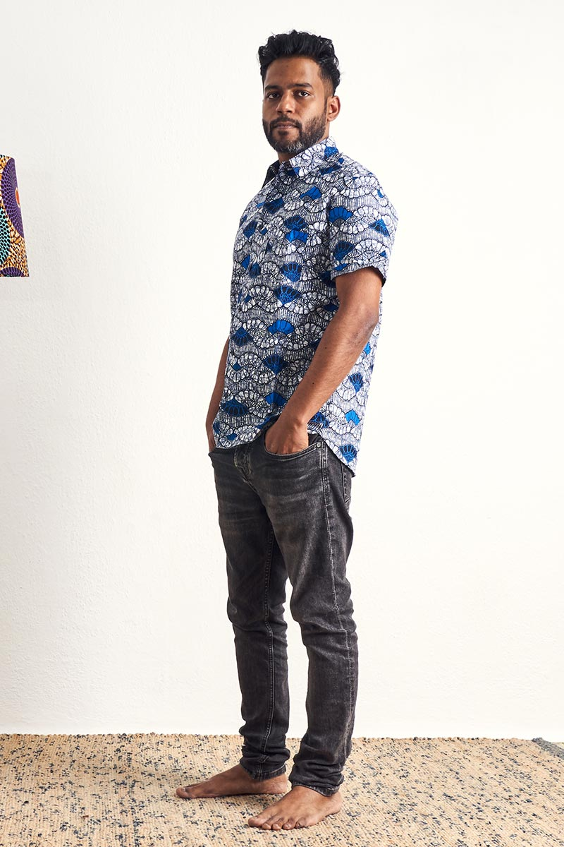 Ayotunde Blue Unisex Shirt