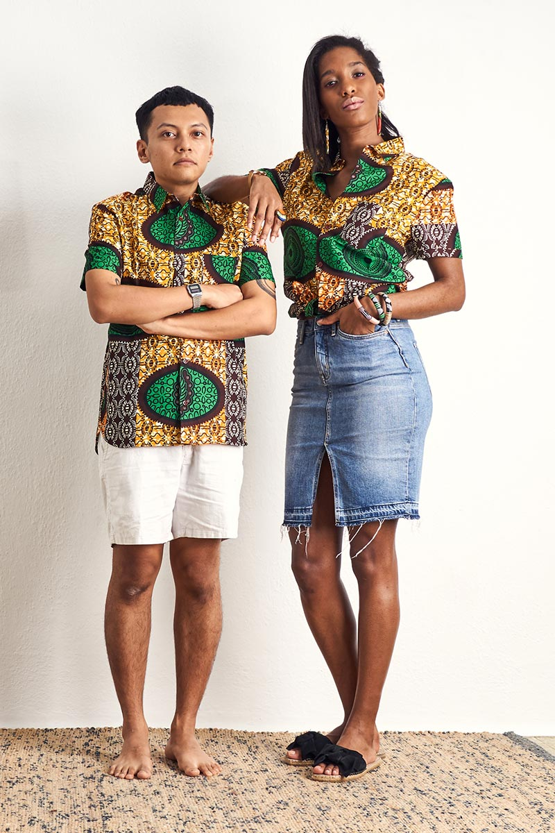 Ayotunde Green Unisex Shirt