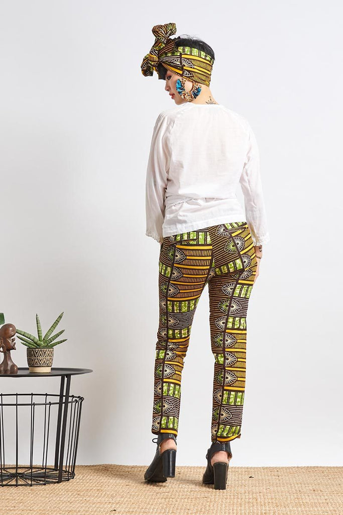 Bako Chino Green Unisex Pants