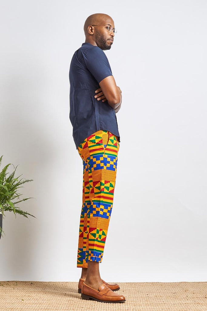 Bako Chino Kente Unisex Pants