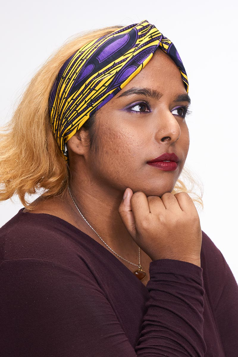 Ayodele yellow Turban Headband